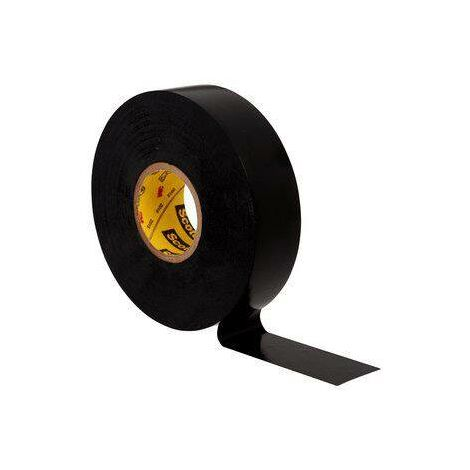 Scotch® Super 33+ vinyle ruban isolant électrique, noir, 19 mm x 20 m, 0,18 mm C051681