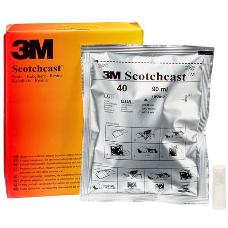 scotchcast/™n/º 40 bolsa unipack a 3M