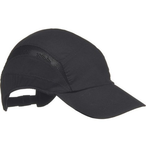Scott HC24BL First Base Cap Standard Peak Black