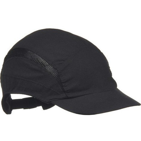 Scott HC24BLRP First Base Cap Reduced Peak Black