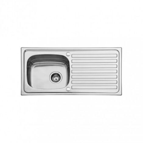 "main image of ""Scott & James 940mm Inset Reversible Stainless Steel Sink - Single Drainer"""