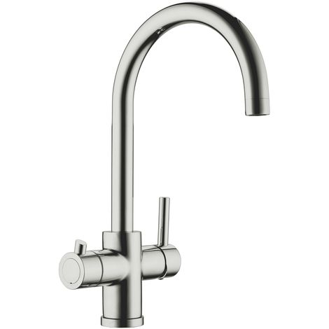 Scott & James - Instant Boiling Hot Water Tap - Brushed finish
