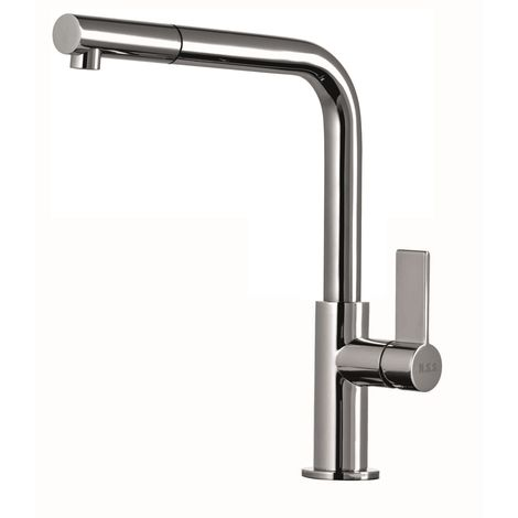 Scott & James - Single Lever Pull Out Kitchen Tap in Chrome