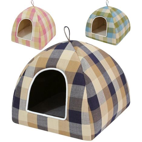 Scottish padded kennel model Igloo Jack for dogs and cats Ferribiella