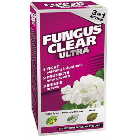 Scotts Fungus Clear Ultra 225ml Garden Fungicide for Powdery Mildew Black Spot