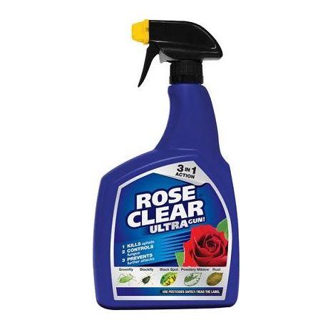 Scotts Rose Clear Ultra Garden Spray Controls Blackspot Powdery Mildew & Rust 1L
