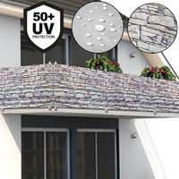 Screen balcony patio windscreen canvas blind fence balcony screen safety fence