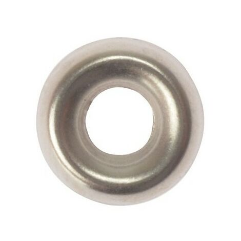 Screw Cup Washers, Nickel Plated