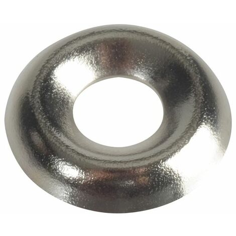 Screw Cup Washers, Nickle Plated, FP