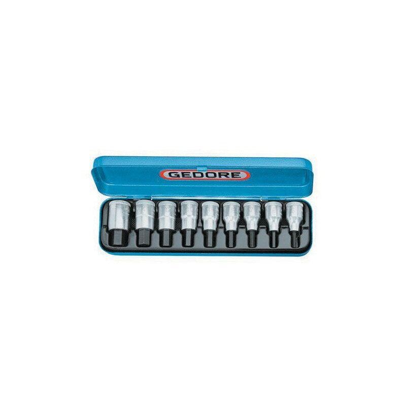 Image of IN19 PA Socket Set (Imperial) - Gedore