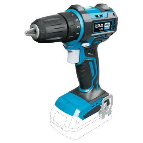 Screwdriver drill KOMA 20V - without battery and charger - 08751