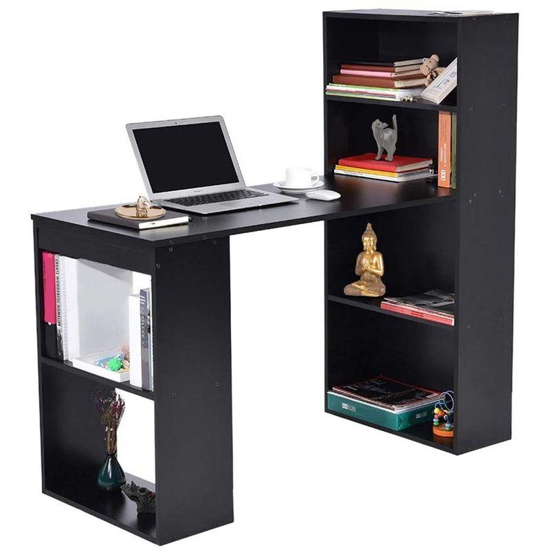 Scrivania pc ufficio reversibile multiposizione studio casa bianco computer gaming 120 X 77 X 74
