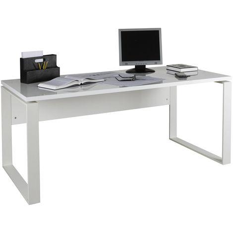 Scrivanie Da Ufficio.Scrivania Da Ufficio In Metallo E Legno Bianco Sr4816k30406