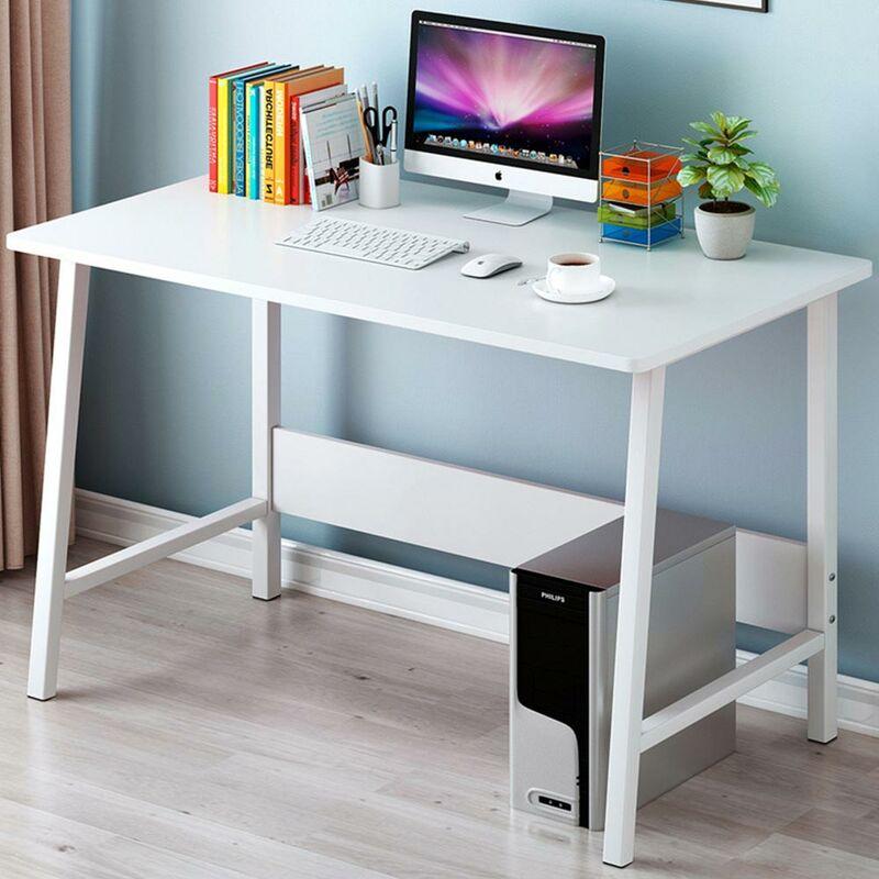 Arredamento Scrivania 120x60x70cm Mdf Nero Tavolo Per Ufficio Computer Casa E Cucina Cumbresbox Cl