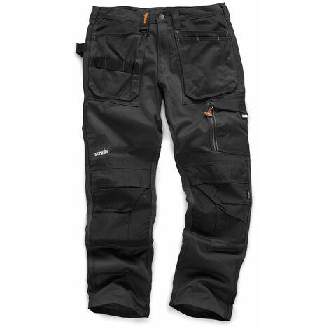 Scruffs 3D Trade Trousers Hardwearing Graphite Grey (Various Sizes) Men's Work