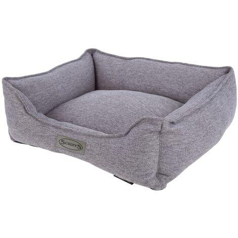 Scruffs Bed Manhattan Dark Grey L - Grey