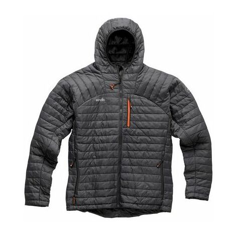 Scruffs EXPEDITION Thermo Graphite Jacket Grey (Various Sizes) Mens Work Coat