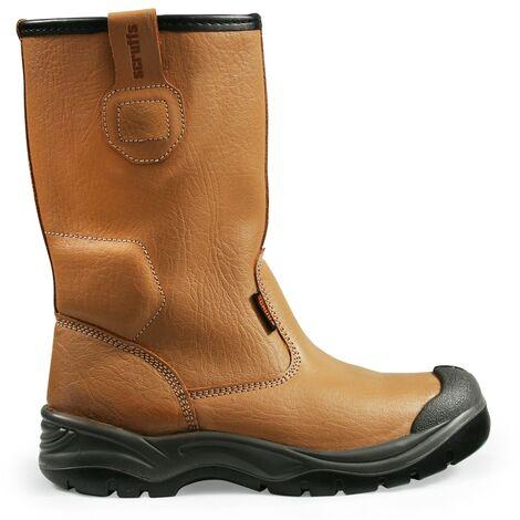 Scruffs Gravity Rigger Work Boots Tan (Sizes 7 - 12) Mens Steel Toe Cap