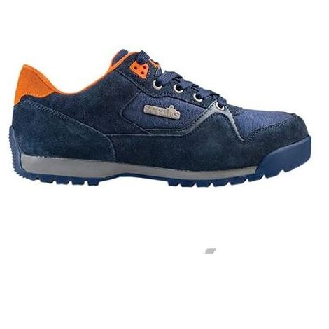 Scruffs HALO 2 Safety Trainers Navy (Sizes 7-12) Mens Work Shoes Steel Toe Cap