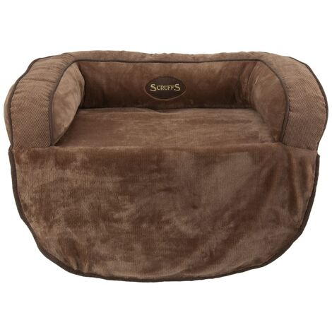 Scruffs Pet Sofa Bed Chester Choco M - Brown