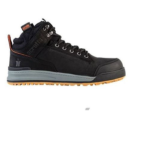Scruffs SWITCHBACK Lightweight S3 Rated Safety Hiker Boot Black (Sizes 7-12)