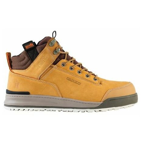 """main image of """"Scruffs SWITCHBACK TAN Safety Hiker Work Boots (Sizes 7-12) Mens Steel Toe Cap"""""""