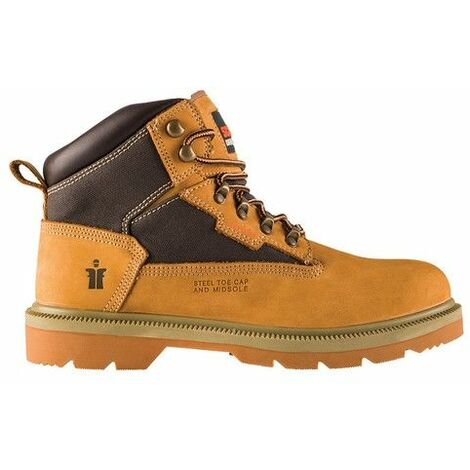 Scruffs T514625 Twister Nubuck Boot Tan Size 10.5 / 45