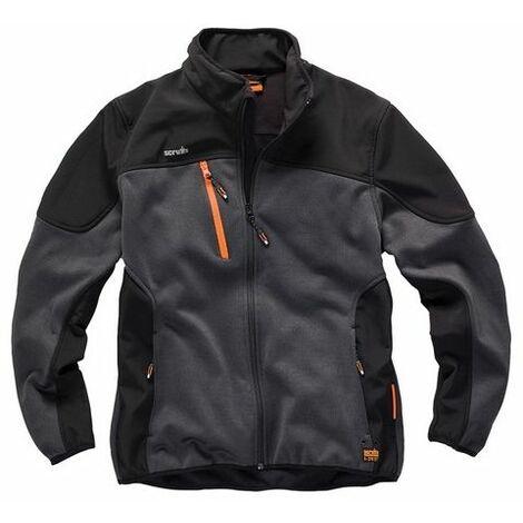 Scruffs T54187 Trade Tech Softshell Jacket Charcoal S