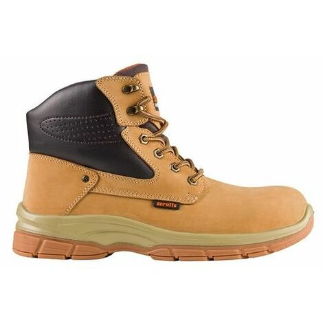 Scruffs T54360 Hatton Boots Tan Size 7 / 41