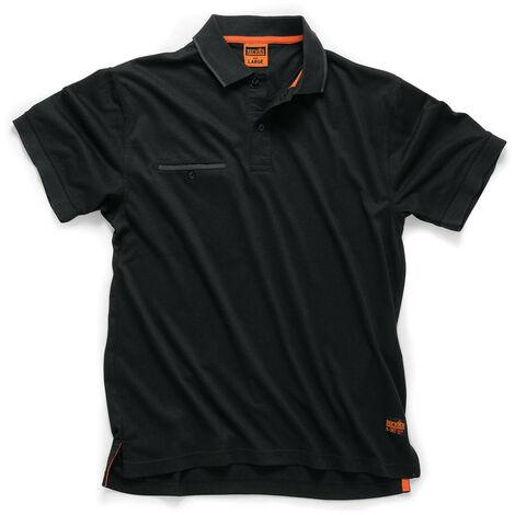 Scruffs T54661 Worker Polo (Black)