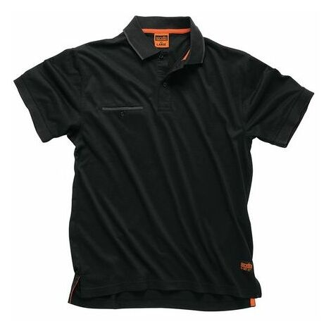Scruffs T54663 Worker Polo Black L