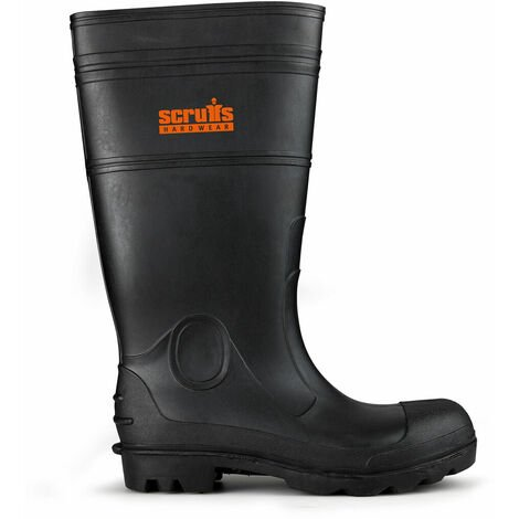 Scruffs T54742 Hayeswater Wellington Safety Boots (Black)