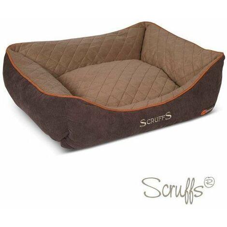 Scruffs Thermal Box Bed (L)  - Brown