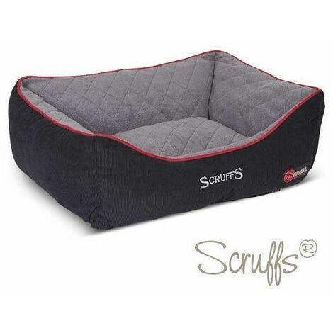 Scruffs Thermal Box Bed (M)  - Black