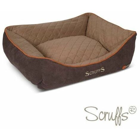 Scruffs Thermal Box Bed (M)  - Brown