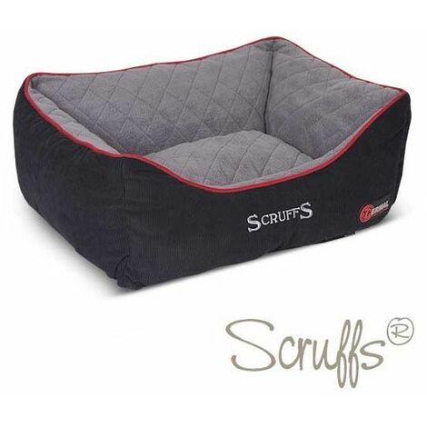 Scruffs Thermal Box Bed (S)  - Black