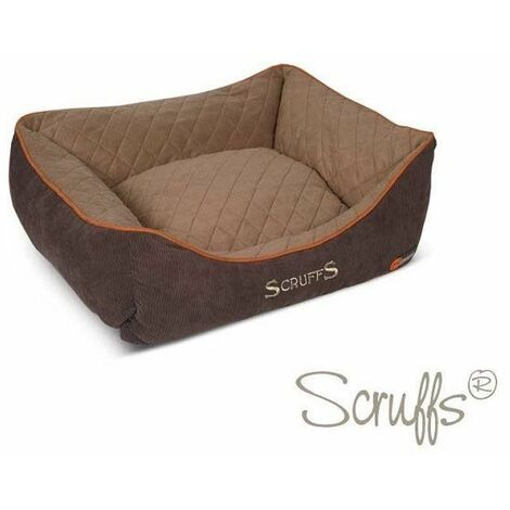 Scruffs Thermal Box Bed (S)  - Brown