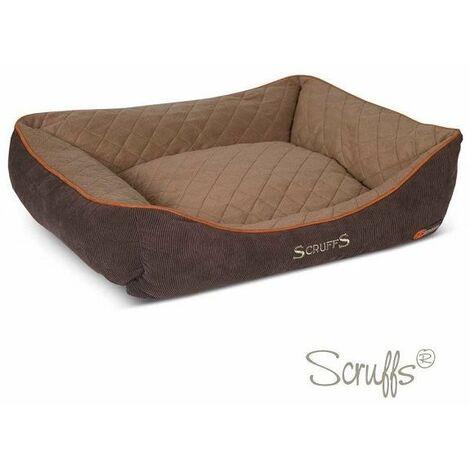 Scruffs Thermal Box Bed (XL)  - Brown