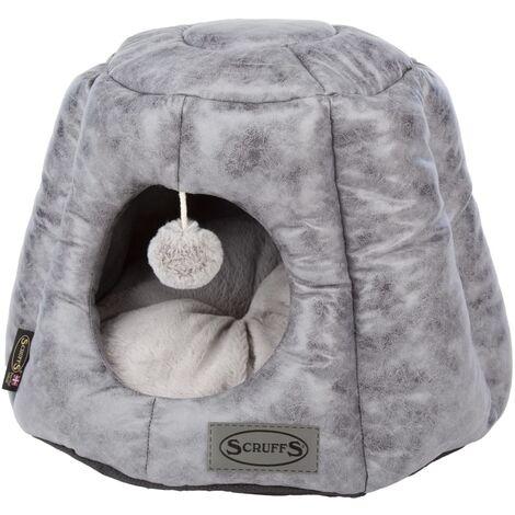 Scruffs & Tramps Cat Bed Knightsbridge 48x38 cm Grey - Grey
