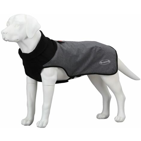 Scruffs & Tramps Thermal Dog Coat XL Grey