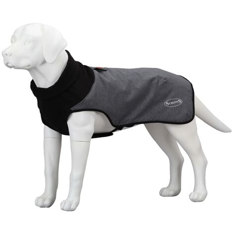Scruffs & Tramps Thermal Dog Coat XS Grey