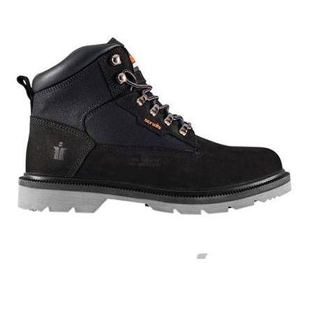 Scruffs TWISTER Safety Hiker Work Boots Black (Sizes 7-12) Men's Steel Toe Cap
