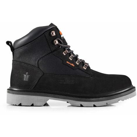 dd358c9f3eda3b Scruffs TWISTER Safety Work Boots Black - Size 8 - T54323