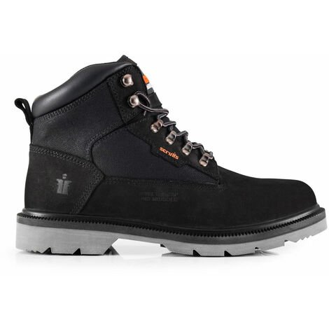 Scruffs TWISTER Safety Hiker Work Boots Black (Sizes 7-12) Men's Steel Toe Cap