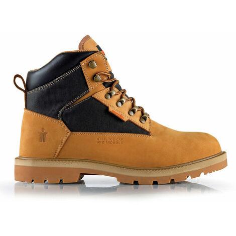 Scruffs TWISTER Safety Work Boots Tan - Size 11