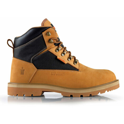 Scruffs TWISTER Safety Work Boots Tan - Size 12