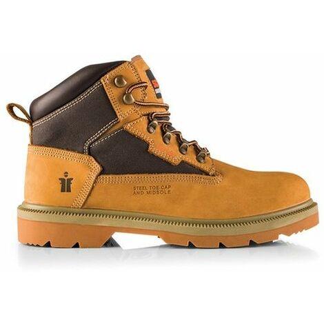 Scruffs TWISTER Safety Hiker Work Boots Tan (Sizes 7-12) Men's Steel Toe Cap