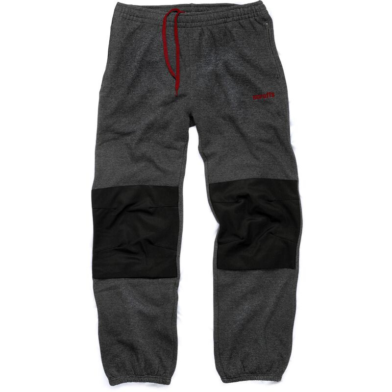 e53a175a7a Scruffs Vintage Fleece Jogger Pants Dark Grey Knee Pad Insert Workwear  Jogging Bottoms - Small