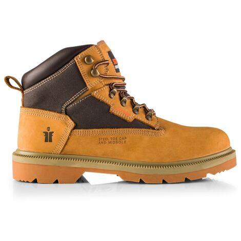 Scruffs Women's TWISTER Nubuck Safety Work Boots Tan (Sizes 3 - 6.5) Ladies Shoe