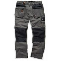 Scruffs WORKER PLUS Black, Graphite Grey or Navy Work Trousers (All Sizes) Trade Hardwearing